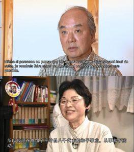 (上)藤森俊希さん 仏語 (下)小谷孝子さん 中国語