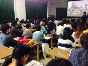 Ariさんをゲストに招いた授業(2015.11.6.)