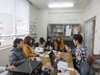 筑波大と京都外大の学生交流