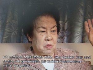 「米田チヨノさん」のドイツ語版映像から