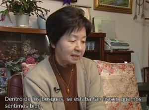 久保ミツエさん(スペイン語)